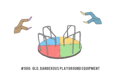 980 Old Dangerous Playground Equipment 1000 Awesome Things