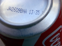 Date Coke becomes clear and salty