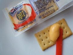 Ritz can take the crackers, but don't mess with the cheese
