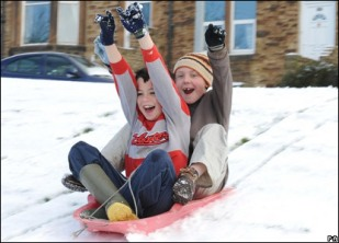 Sledding into a world of awesome