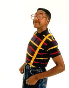 Urkel could pull it off -- me, not really