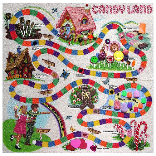 Vintage Candyland Board Game 43