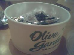 andes-mints-at-olive-garden