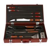 9 piece bbq tool set
