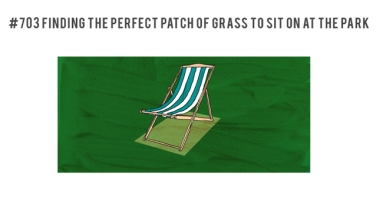 perfect patch of grass