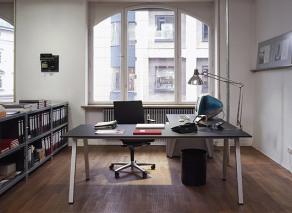 empty desk