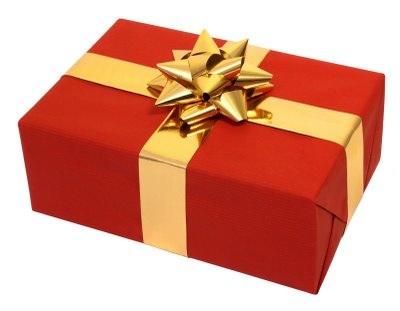 its like a present