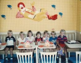 mcdonalds birthday party