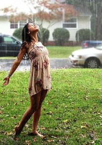 #364 When you get caught in the rain and just don't care ...