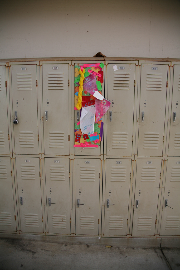 315 when someone decorates your locker or cubicle for your birthday