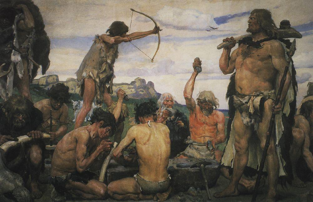 Paleolithic Stone Age http://1000awesomethings.com/2011/04/06/272-the-stone-age/